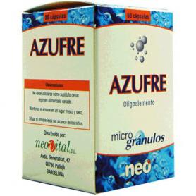 MICROGRANULOS AZUFRE 50cap NEO Suplementos nutricionales 14,09€