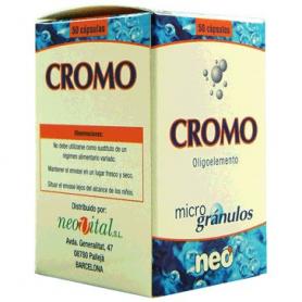 MICROGRANULOS CROMO 50cap NEO Suplementos nutricionales 14,09€