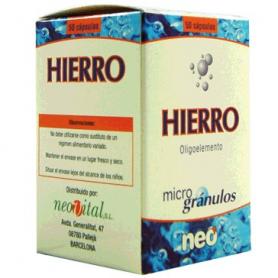 MICROGRANULOS HIERRO 50cap NEO Suplementos nutricionales 13,35€