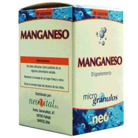 MICROGRANULOS MANGANESO 50cap NEO Suplementos nutricionales 13,47€