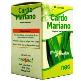 PHYTOGRANULOS CARDO MARIANO 45cap NEO Plantas Medicinales 10,54€