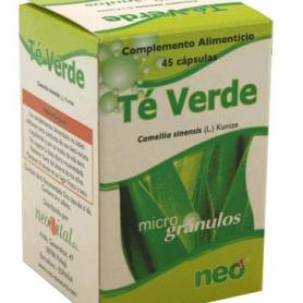 PHYTOGRANULOS TE VERDE 45cap NEO Plantas Medicinales 8,36€
