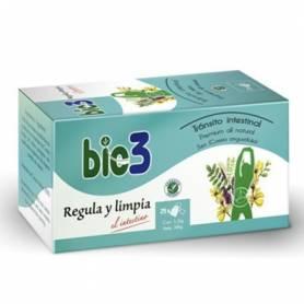 BIO3 REGULA Y LIMPIA Infusiones 25ud BIO3 Suplementos nutricionales 4,70€