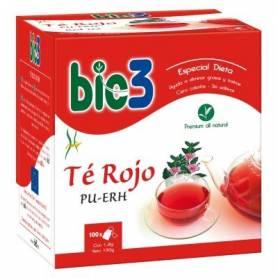 BIO3 TE ROJO PU-ERH Infusiones 100ud BIO3 Plantas Medicinales 13,25€