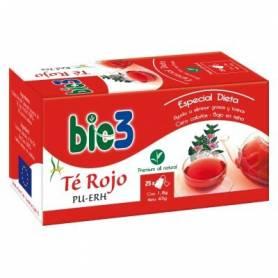BIO3 TE ROJO PU-ERH Infusiones 25ud BIO3