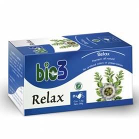 BIO3 RELAX Infusiones 25ud BIO3 Suplementos nutricionales 4,70€