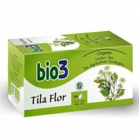 BIO3 TILA FLOR ECO Infusiones 25ud BIO3 Plantas Medicinales 3,95€