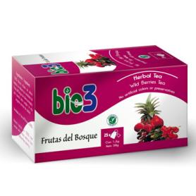 BIO3 FRUTAS DEL BOSQUE Infusiones 25ud BIO3