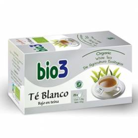BIO3 TE BLANCO ECO Infusiones 25ud BIO3 Plantas Medicinales 6,85€