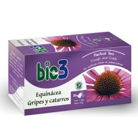 BIO3 EQUINACEA GRIPES Y CATARROS Infusiones 25ud BIO3 Plantas Medicinales 4,70€
