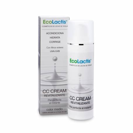 CC CREAM REVITALIZANTE LECHE DE YEGUA 30ml ECOLACTIS Cosmética e higiene natural 21,12€