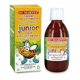 JARABE CON VITAMINAS Y JALEA REAL JUNIOR 250ml MARNYS Suplementos nutricionales 10,82€