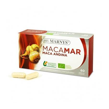 MACAMAR MACA ANDINA BIO 60cap MARNYS