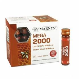 JALEA REAL MEGA 2000mg 20amp MARNYS Suplementos nutricionales 19,97€