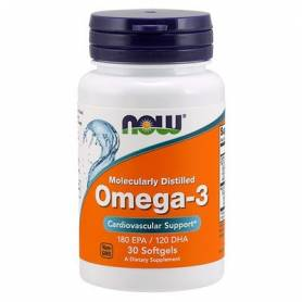 OMEGA 3 100perl NOW Suplementos nutricionales 18,85 €