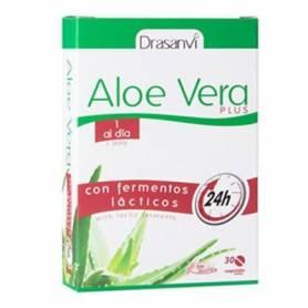 ALOE VERA PLUS 30comp DRASANVI Plantas Medicinales 11,30€