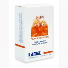 JABON AZUFRE PASTILLA 125g KAMEL Cosmética e higiene natural 5,91€