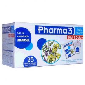 PHARMA3 25 BOLSITAS BIO3 Plantas Medicinales 4,84€